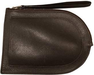 Delvaux Signature clutch Brown Leather Purses, wallets & cases