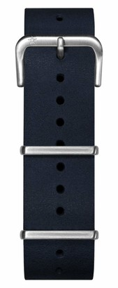 Oxygen Unisex Blue Leather Buckle Pin of 22cm EX-NL-STR-22-NA