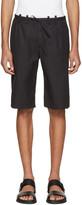 Maison Margiela Black Micro-Gabardine Shorts