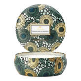 Voluspa 3 Wick Candle - French Cade & Lavender