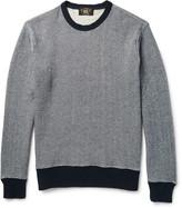 Rrl - Striped Cotton-blend Sweater