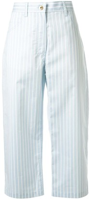 Sies Marjan Issa striped cropped trousers