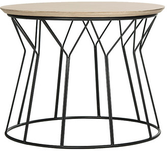 One Kings Lane Ditmar Small Coffee Table - Natural/Black