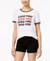 Freeze 24-7 Juniors' Good Vibes Graphic T-Shirt