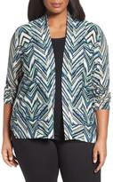 Nic+Zoe Illusion Cardigan (Plus Size)