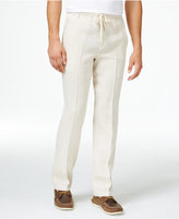 Tasso Elba Big and Tall Linen Drawstring Pants, Only at Macy's