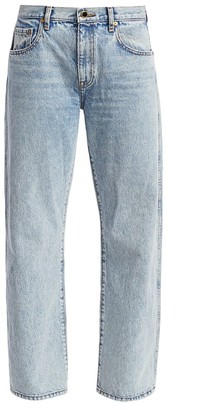 KHAITE Kerrie Mid-Rise Cropped Jeans