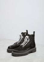 Proenza Schouler Black Pony Ankle Boot