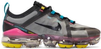 Nike Grey and Black Air VaporMax 2019 Sneakers