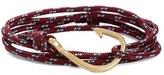 Miansai Brass Hook Rope Wrap Bracelet