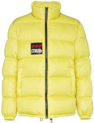 Heron Preston Logo-Patch Puffer Jacket