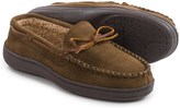 Clarks Suede Moccasins - Sherpa Lined (For Men)