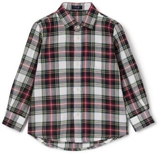 Il Gufo Cotton Check Shirt (3-12 Years)
