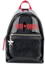 Tommy Hilfiger GiGi fur patch packpack