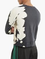 Haider Ackermann Black Bleached Sweatshirt