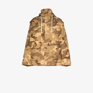 Reebok x Victoria Beckham camouflage military jacket