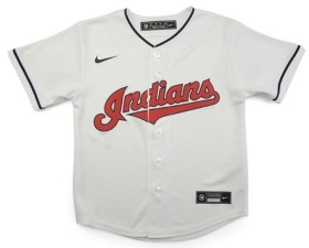 Nike Cleveland Indians Kids Official Blank Jersey