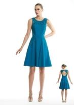 Sue Wong N5403 Sleeveless Dress In Teal