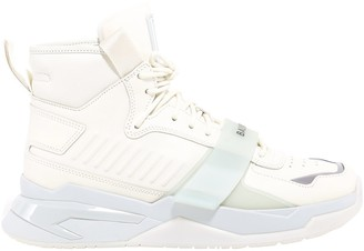 Balmain B-Ball Strap Sneakers