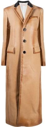 Marni Felted Single-Breasted Coat