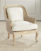 John-Richard Collection John Richard Collection Cane-Back Bergere Armchair