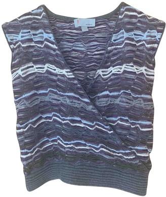 M Missoni Purple Wool Top for Women