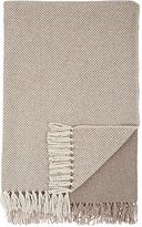 Barneys New York Basket-Weave Cashmere Throw