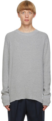 Jil Sander Grey Long Sleeve T-Shirt