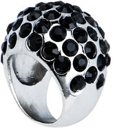 Body Candy Size 8 Black Glam Cocktail Ring