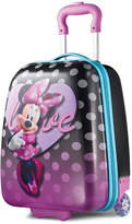 """American Tourister Disney Minnie Mouse 18"""" Hardside Rolling Suitcase"""