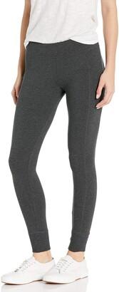 Calvin Klein Women's Premium Performance Double Waistband Moisture Wicking Legging (Standard and Plus)