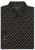 Perry Ellis Mini Star Dot Print Shirt