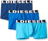 Diesel Men's 3-Pack Shawn Logo Cotton Stretch Trunk