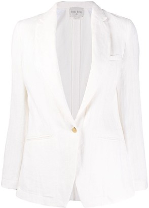 Forte Forte One-Button Blazer