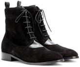 Balenciaga Suede brogue Chelsea boots