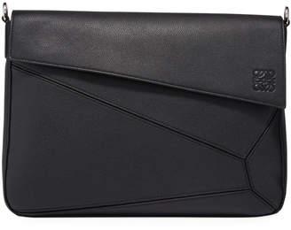 Loewe Men's Puzzle Leather Messenger Bag