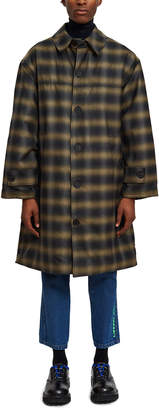 Liberal Youth Ministry Grunge Plaid Coat