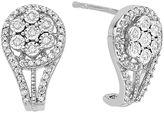 JCPenney FINE JEWELRY diamond blossom 1/3 CT. T.W. Diamond Earrings