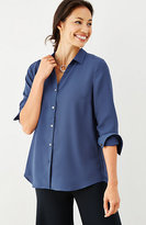 J. Jill Soft Button-Front Top