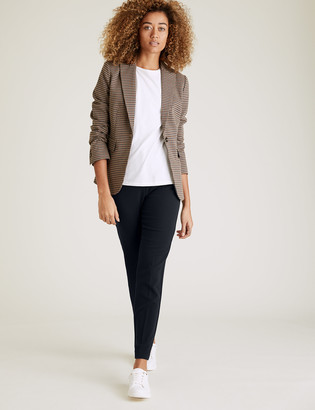 Marks and Spencer Slim Fit Ankle Grazer Trousers