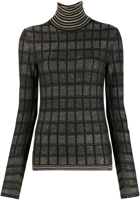 Antonio Marras Slim-Fit Check Sweater