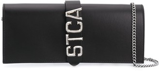 Just Cavalli Logo Clutch Bag