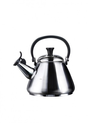 Le Creuset Kone Kettle With Fixed Whistle 1.6l Stainless Steel