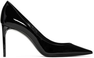 Saint Laurent Black Patent Zoe Heels