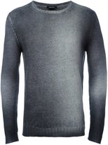 Avant Toi ribbed cuffs pullover