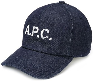 A.P.C. Logo Print Cap