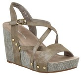 Antelope 713 Leather Wedge Sandal.