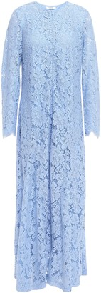 Ganni Jerome Corded Lace Maxi Dress