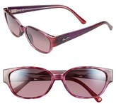 Maui Jim Women's 'Anini Beach' 53Mm Polarized Sunglasses - Amethyst/ Maui Rose