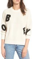 Obey Women's Jumbled Knit Sweater